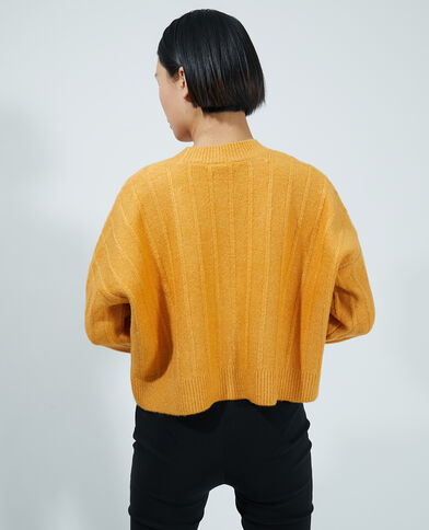 Gilet court orange - Pimkie