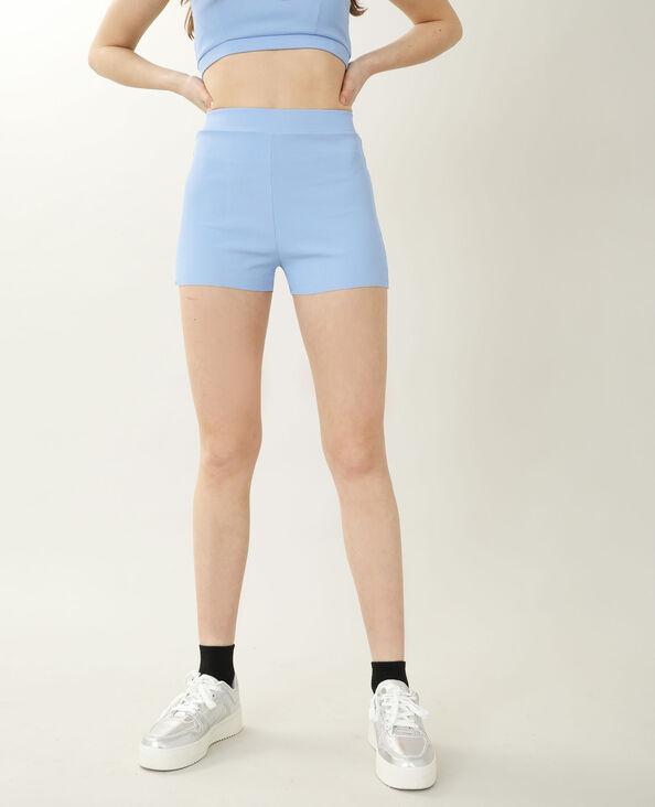 Short côtelé bleu - Pimkie