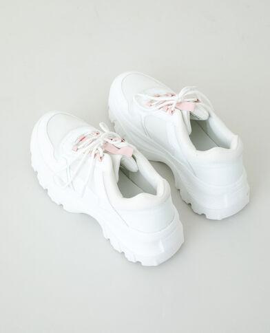 Chunky sneakers - Dad shoes gebroken wit - Pimkie