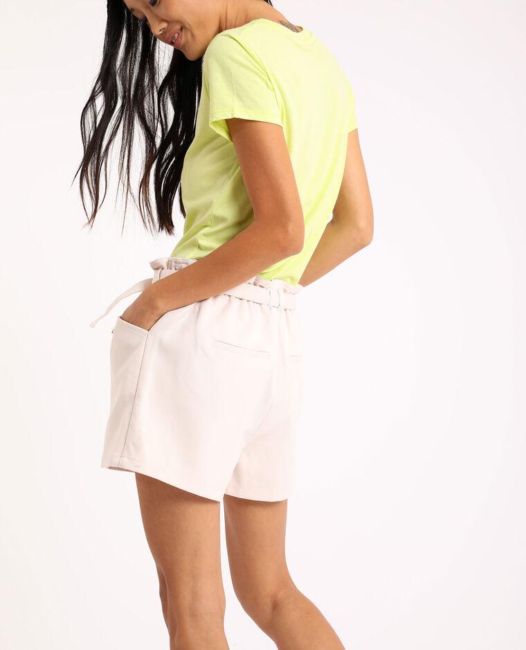 Short taille haute blanc - Pimkie