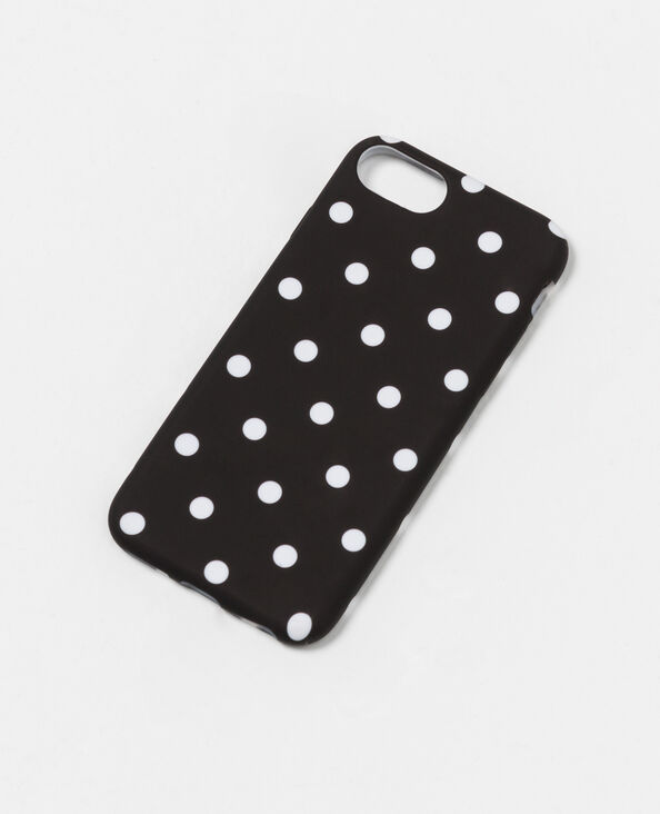 Coque souple compatible iPhone 7 noir