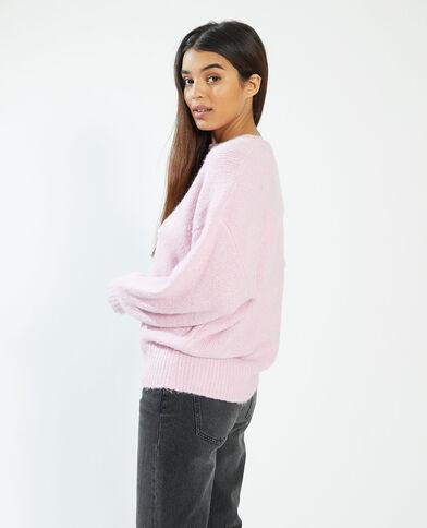 Oversized trui roze - Pimkie