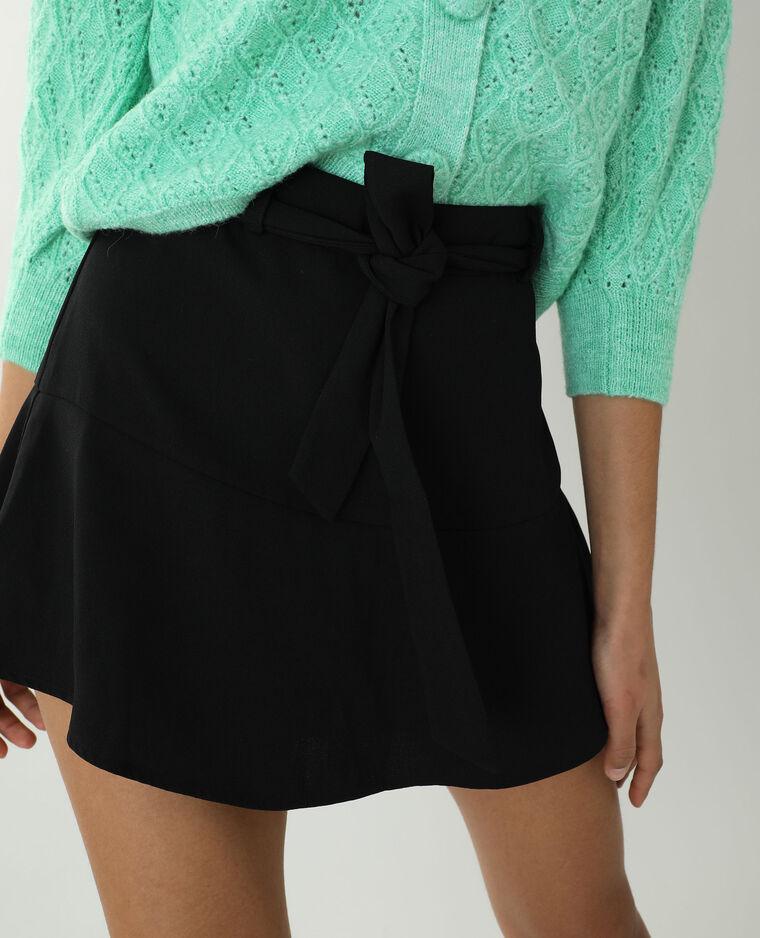 Jupe-short noir - Pimkie