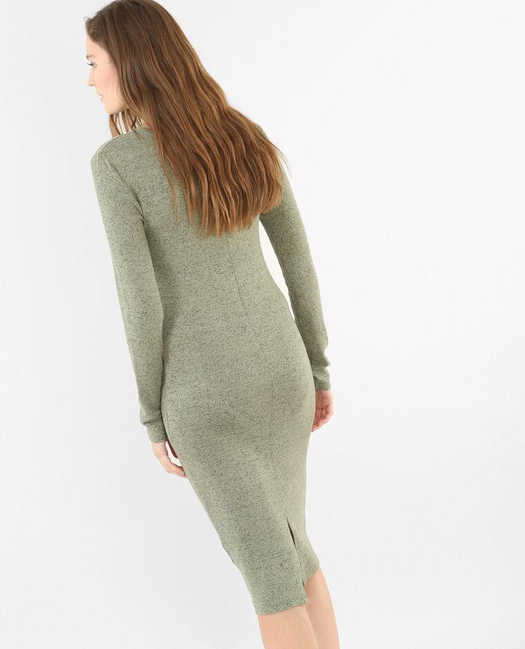 c8e190415d6c31 Lange trui-jurk groen - 781213C47J05