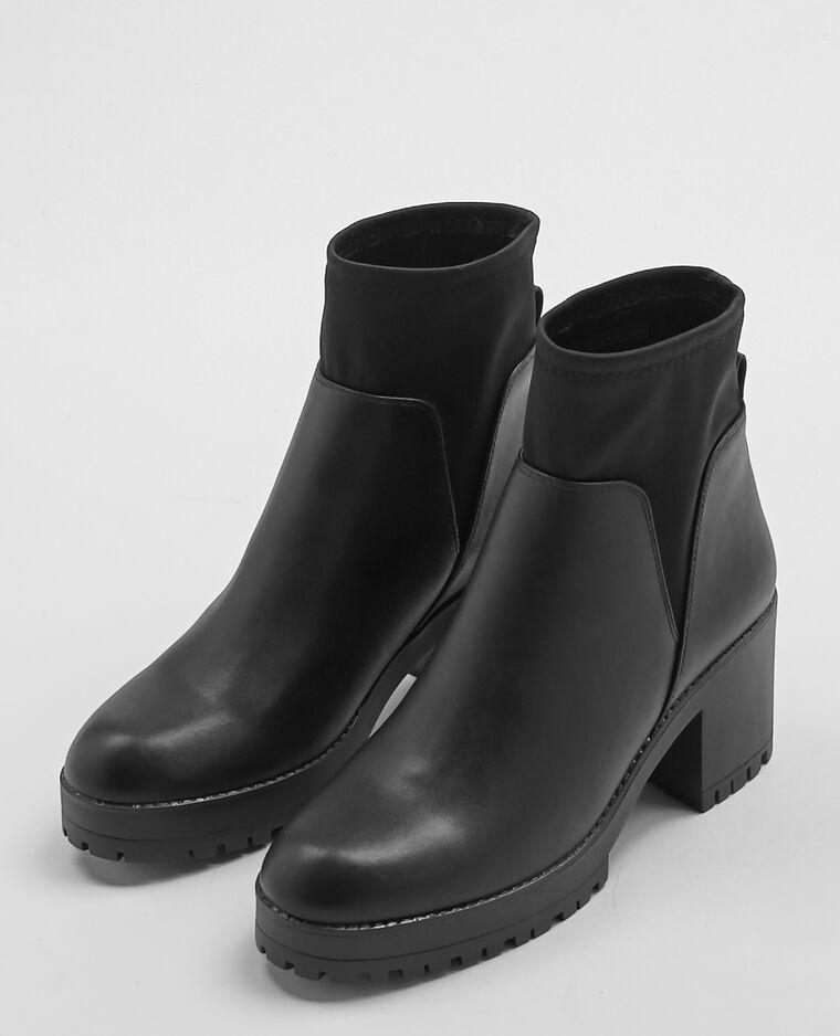laarzen met hakken zwart - 916237899a08 | pimkie