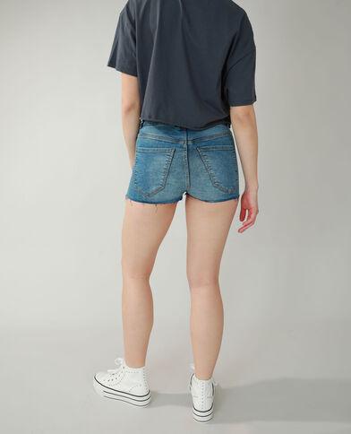 Jeansshort denimblauw - Pimkie