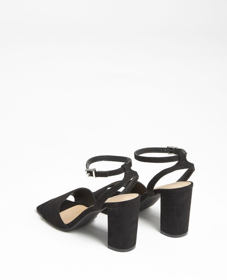 Sandales nubuck noir - Pimkie