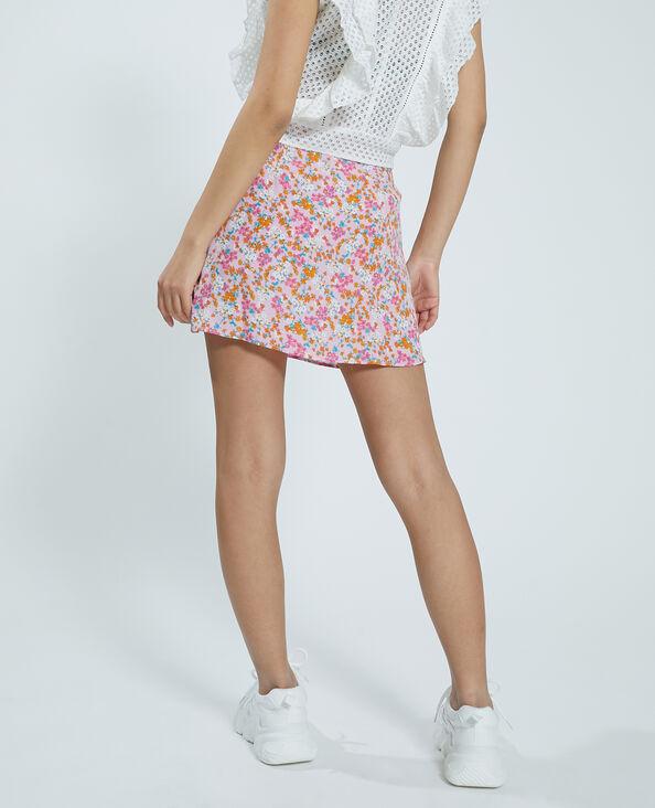 Soepele rok-short roze - Pimkie