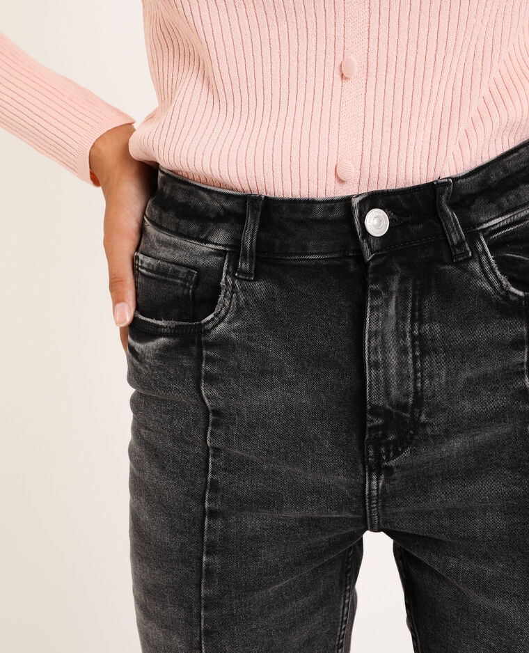 Skinny taille haute noir - Pimkie