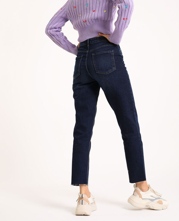 Straight-fit jeans donkerblauw - Pimkie