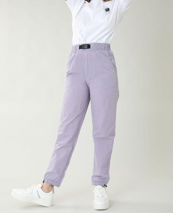Winddichte broek violet - Pimkie