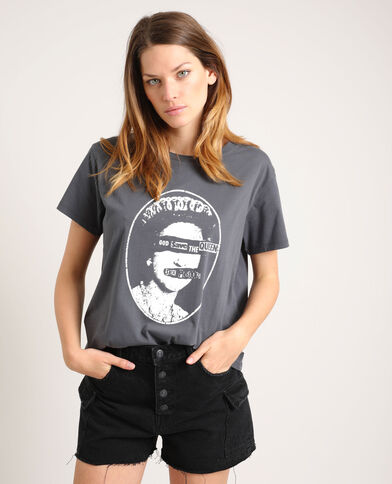 T-shirt Sex Pistols zwart