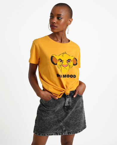 The Lion King T-shirt geel