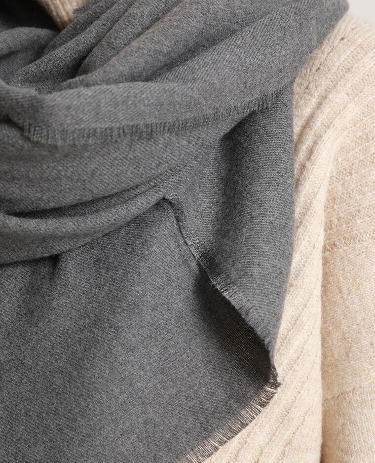 Grote omslagdoek grijs - Pimkie