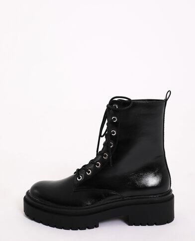 Stoere laarzen zwart