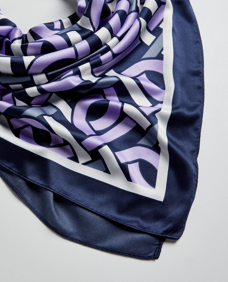 Foulard chic violet