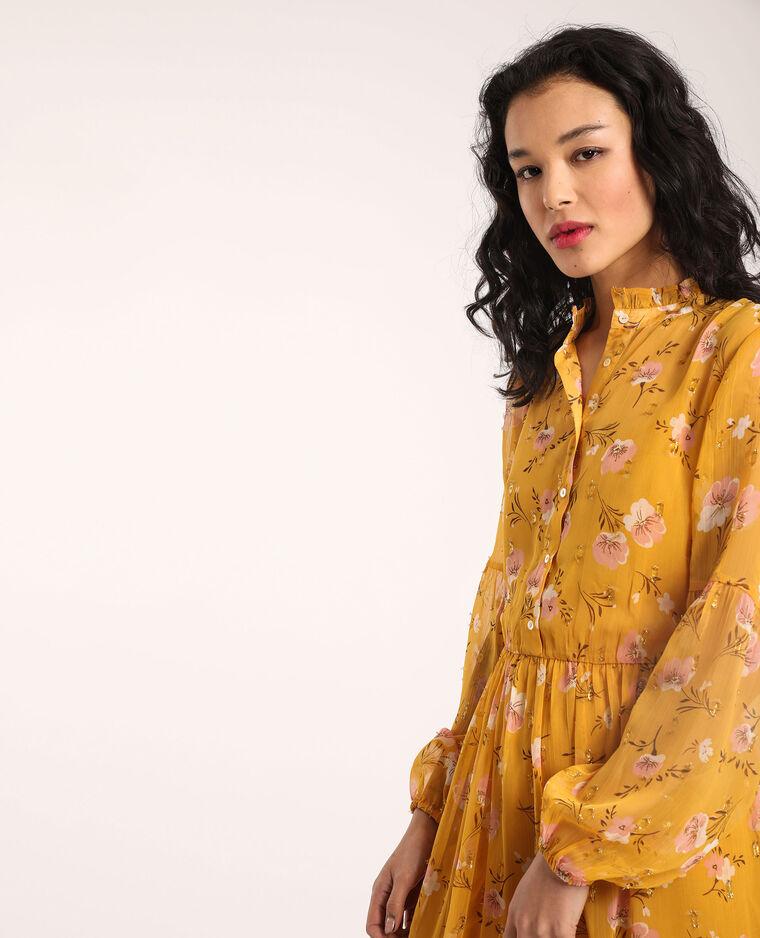 Robe longue jaune - Pimkie