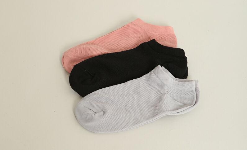 Set van 3 paar sokken zwart