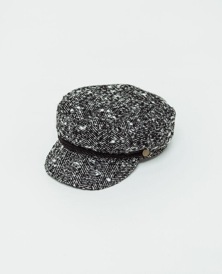 Casquette gavroche noir