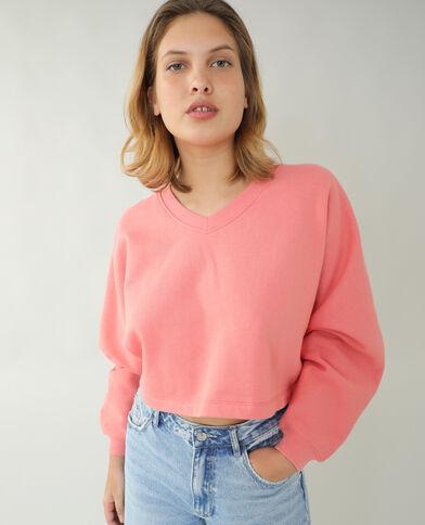 Molton sweater roze - Pimkie