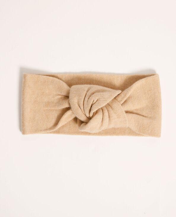 Headband tricot beige - Pimkie