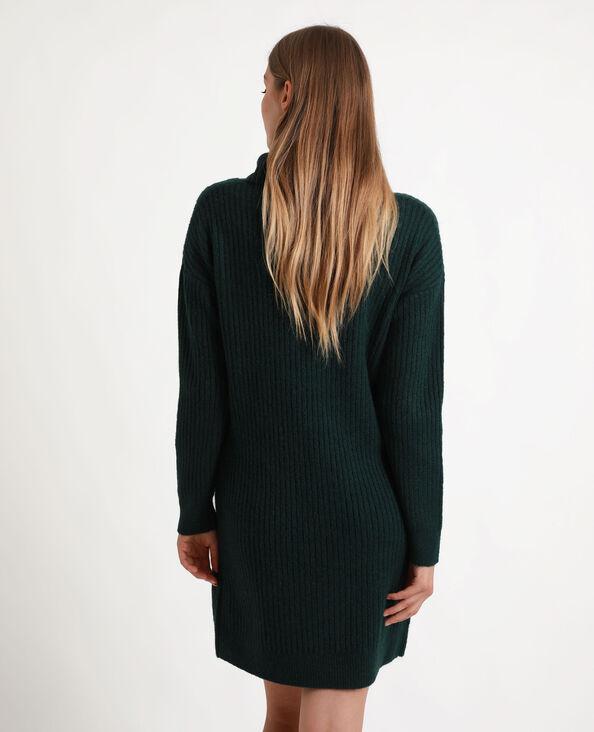 Trui-jurk groen