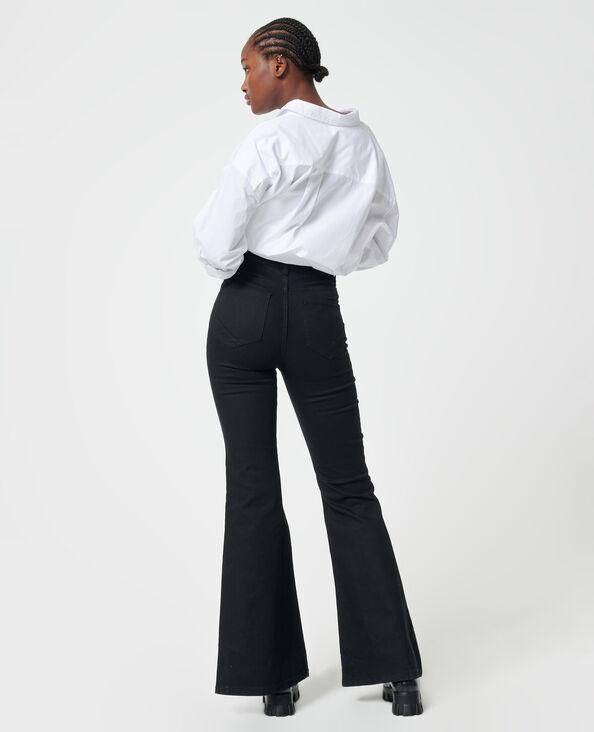 Flared jeans zwart - Pimkie