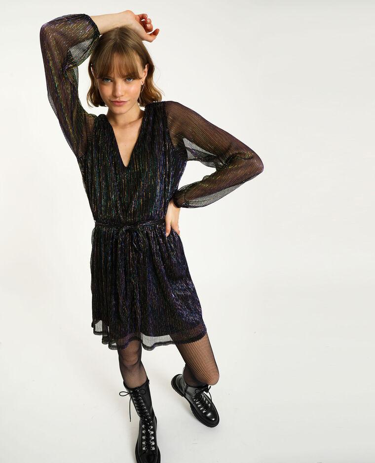 Robe lurex noir