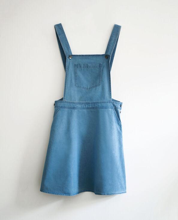 Robe chasuble bleu