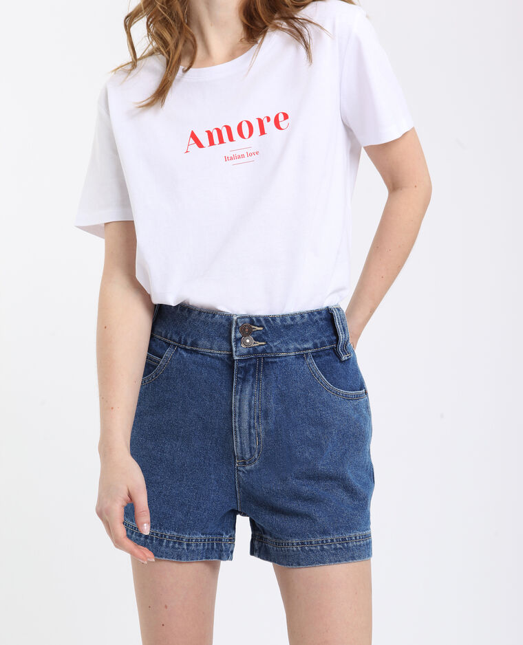 Amore T-shirt wit