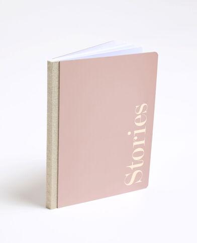 Notebook rigide rose nude