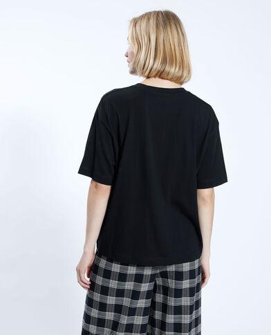 T-shirt à motif papillon noir - Pimkie