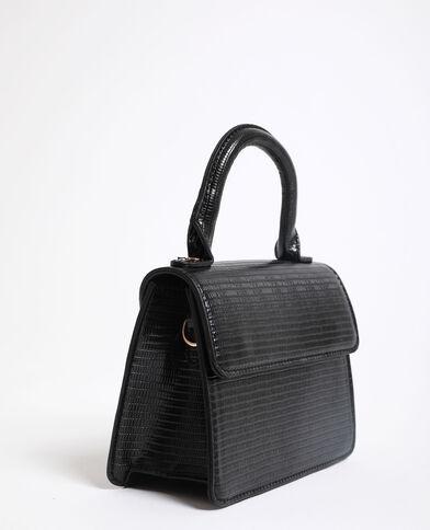 Mini-handtas zwart