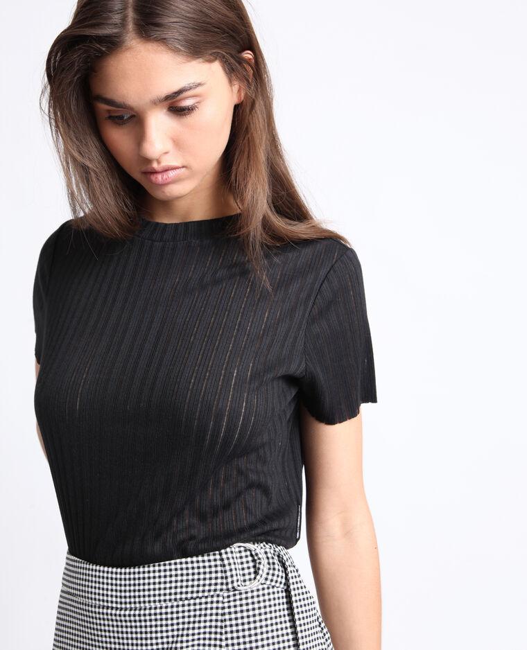 T-shirt fin noir