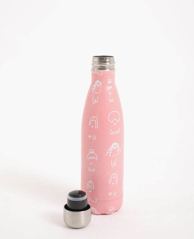 Gourde en aluminium Women's day everyday rose