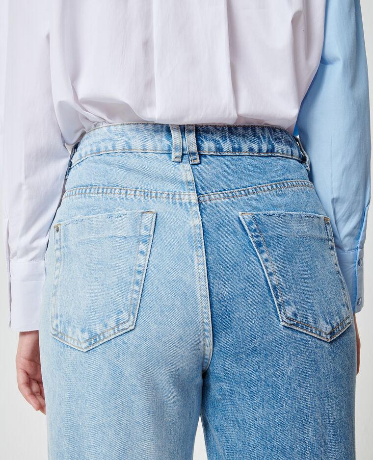 Tweekleurige jeans denimblauw - Pimkie