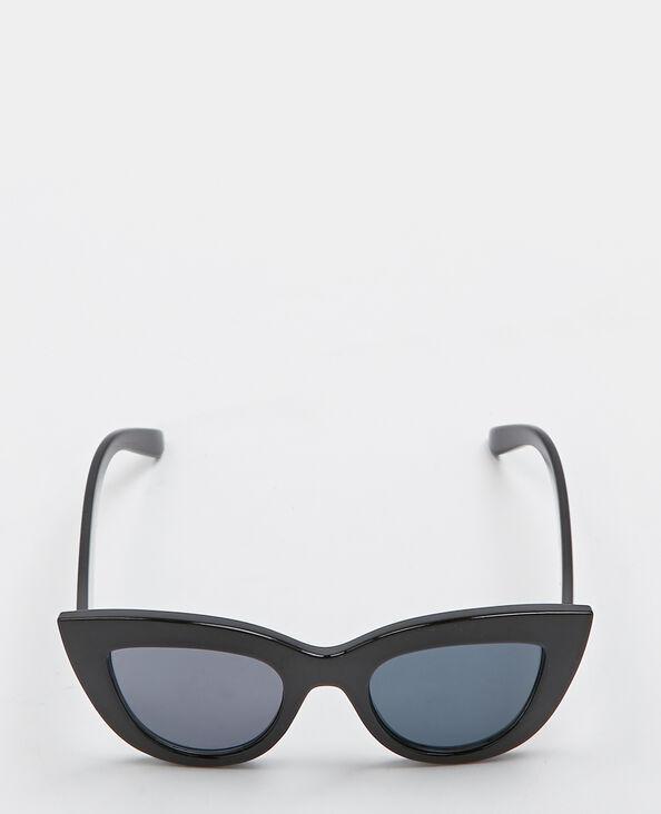 Cat-eye-zonnebril zwart