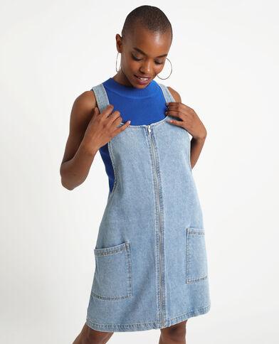 Overgooier van jeans donkerblauw
