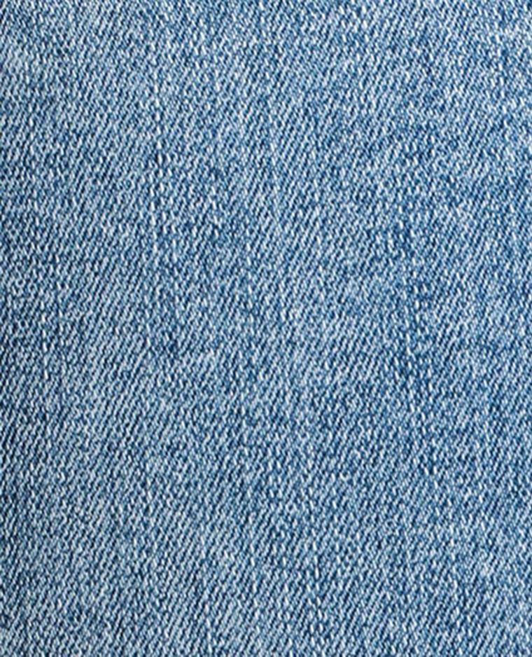 Jean skinny taille haute bleu délavé
