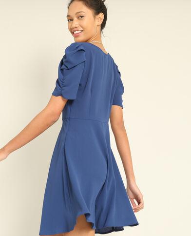 Robe fluide bleu foncé