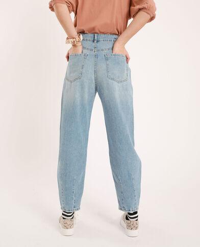 Slouchy jeans denimblauw
