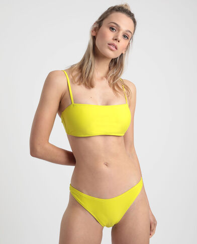Bikinislip in tangamodel groen