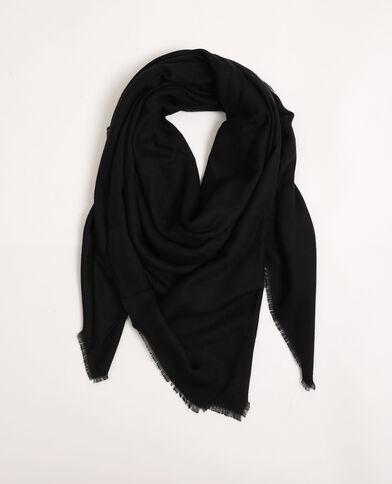 Foulard basique noir - Pimkie