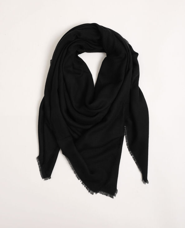 Basic sjaaltje zwart