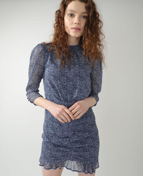 Robe étoilée bleu marine - Pimkie