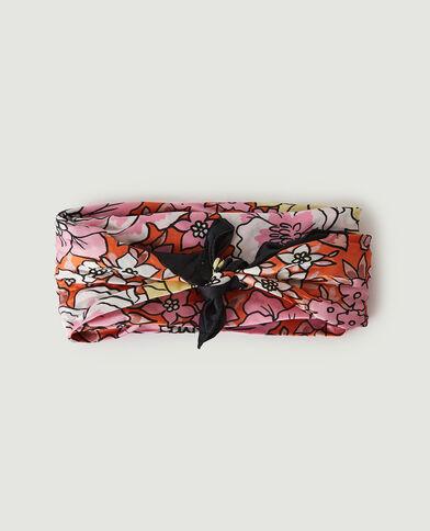 Haarsjaaltje met bloemenprint roze - Pimkie