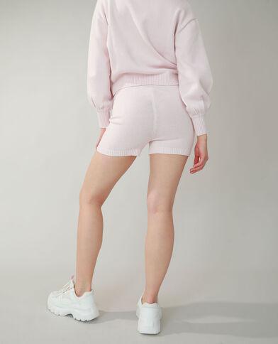 Short tricot rose pâle - Pimkie