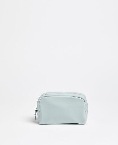 Trousse make up bleu ciel