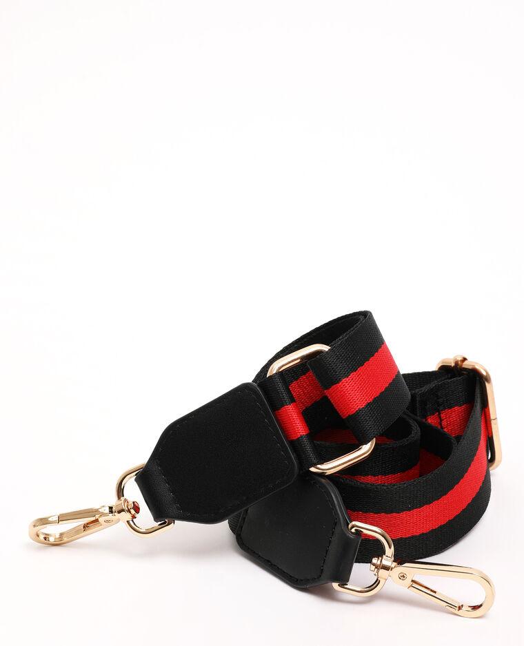 Schouderband zwart