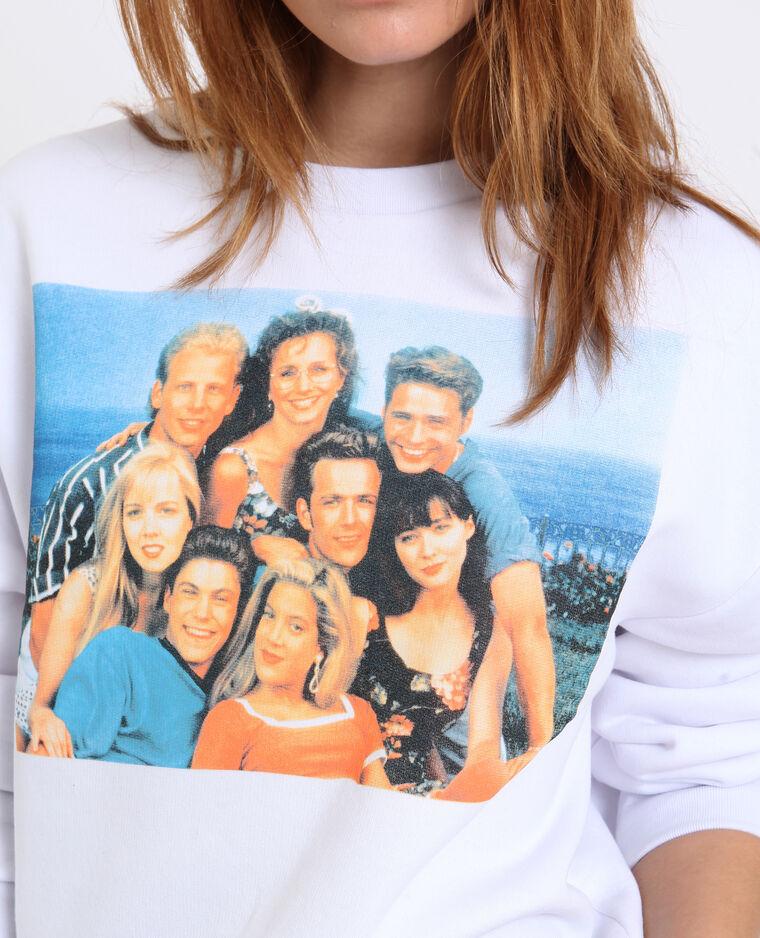 Beverly Hills sweater ecru